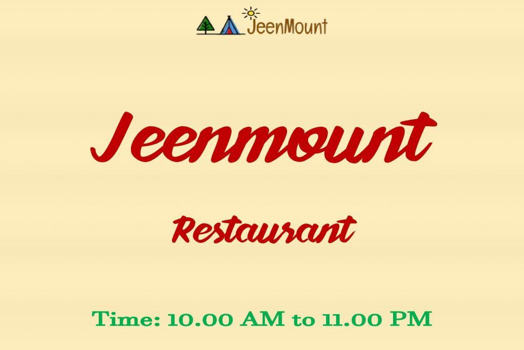 Jeenmount Family Restaurant Menu (Veg and Non Veg)