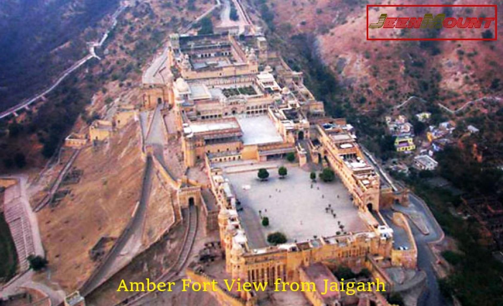 Amber Fort from Jaigarh