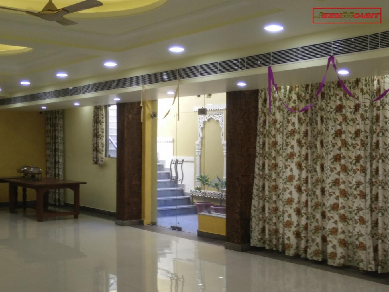 Banquet hall external entrance